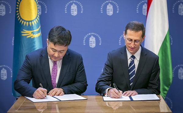 Erősödött az együttműködés Kazahasztánnal