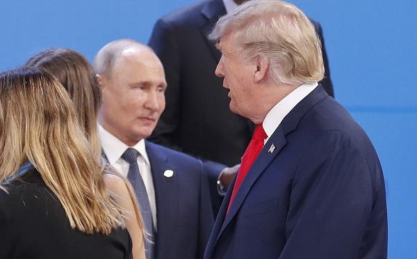 """""""Rögtönzött"""" találkozó Trump és Putyin között"""
