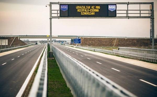 Az autópályák elérik majd az országhatárt