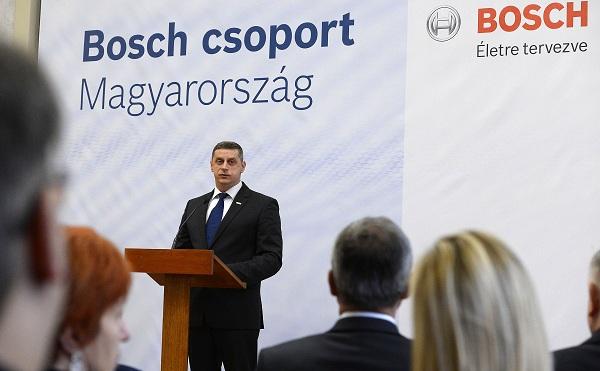 14 milliárdos beruházást indít a Bosch
