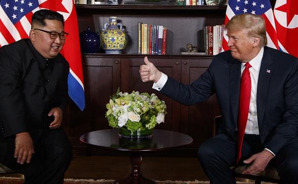 Február végén találkozik Donald Trump Kim Dzsong Unnal