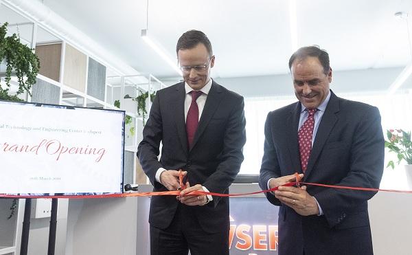Új mérnöki központot avattak Budapesten