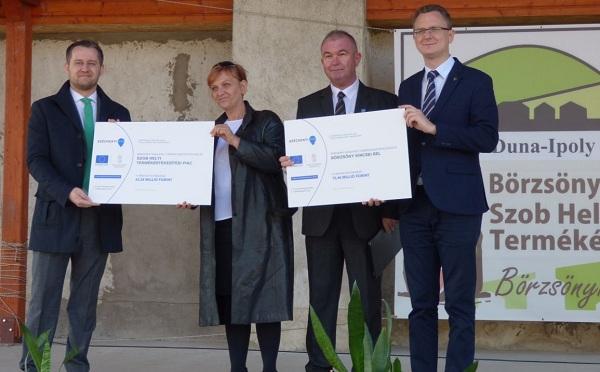 A Vidékfejlesztési Program keretéből fejlesztenek Szobon