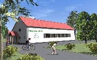 Átadták a kerékpáros központot Letenyén