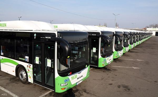 Környezetbarát buszok beszerzésére jut támogatás
