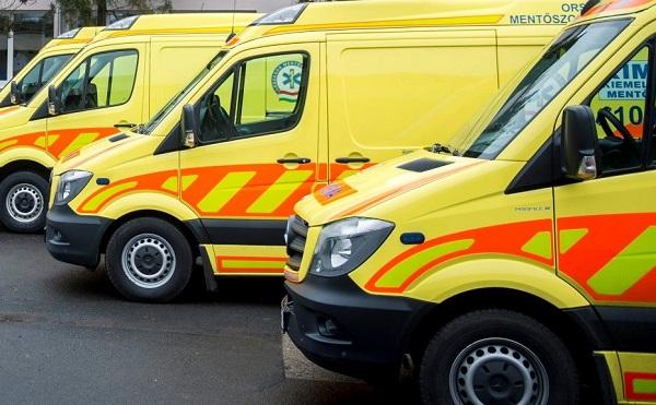Új mentőautót kaphatnak a mentőállomások