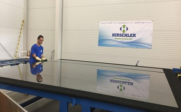 Fejlesztett a Hirschler Glas Kft. a Beszállítói fejlesztési program keretében