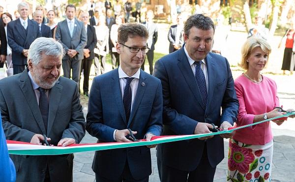 Átadták a Budapesti Corvinus Egyetem új campusát