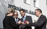 Átadták a nyírbátori járási hivatal új épületét