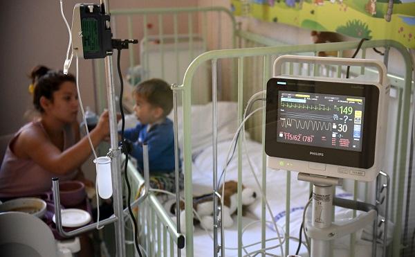 Megújult a Semmelweis Egyetem II. sz. Gyermekgyógyászati Klinika hematológiai osztálya