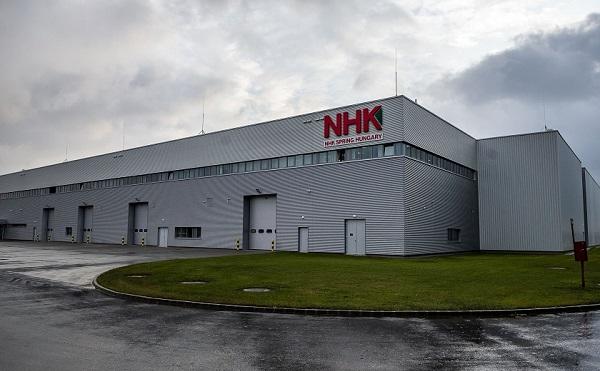 Háromszorosára bővítette tatai üzemét a japán rugógyártó NHK Spring Hungary