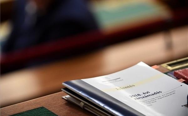 ÁSZ: szabályszerű volt a 2018-as költségvetés végrehajtása