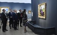 Magyar művekből rendezett kiállítást nyitott meg a miniszterelnök Japánban