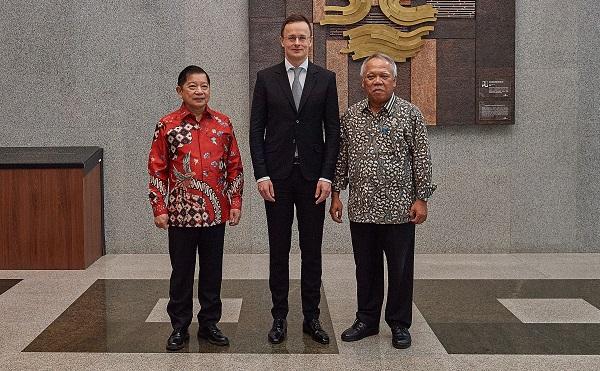 Indonézia és Magyarország ötszázmillió dolláros közös befektetési alapot hoz létre