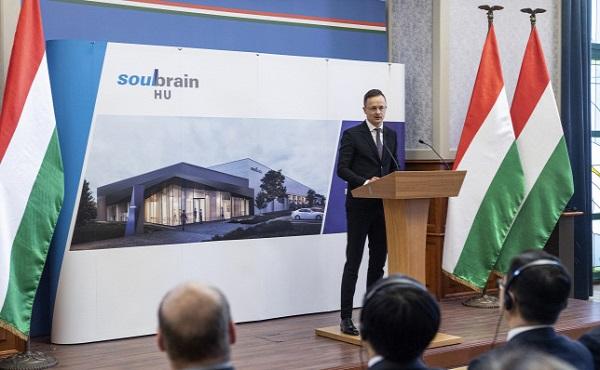 A kormány 425 millió forinttal támogatja a koreai Soulbrain tatabányai beruházását