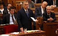 Orbán beszámolt az Országgyűlésnek az uniós csúcsra adott mandátum teljesítéséről