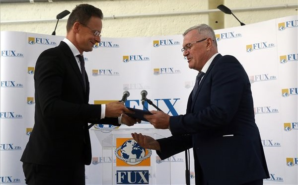 A Fux Zrt. beruházása növeli a vállalkozás exportteljesítményét