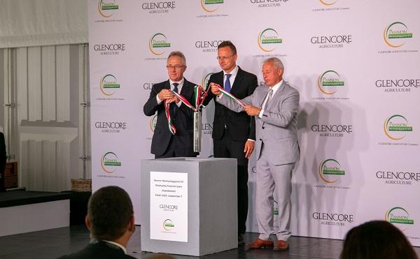 Letették a Pannon Növényolajgyártó új üzemének alapkövét Foktőn