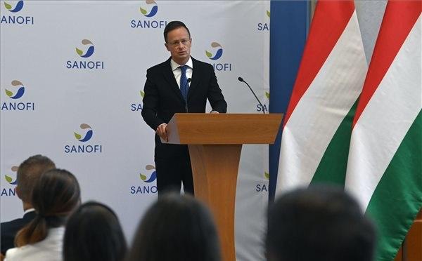 A Sanofi miskolci gyára több mint 7 milliárd forintból bővül
