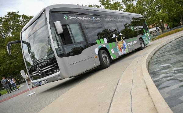 Elkezdődött a Zöld busz program demonstrációs szakasza