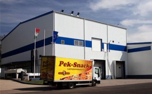 1,1 milliárd forintos fejlesztéssel bővült a Pek-Snack Kft.