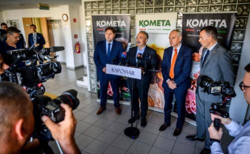 Megduplázza gyártókapacitását Kaposváron a Kometa 99 Zrt.