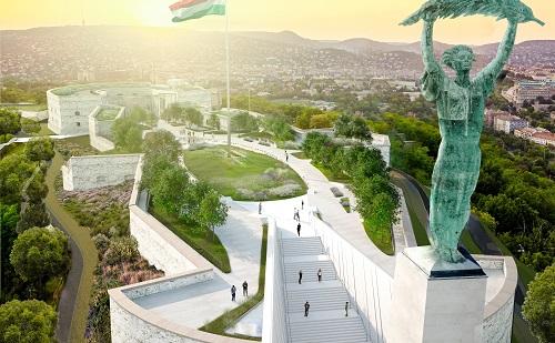 Megjelentek a megújuló Citadella látványtervei