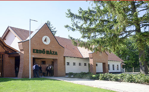 A Soproni Parkerdőben átadásra került az Erdő Háza ökoturisztikai látogatóközpontot