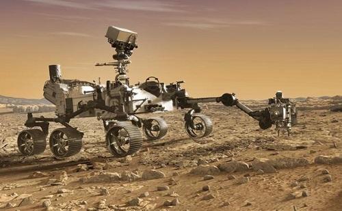 Drón repül majd a Marson