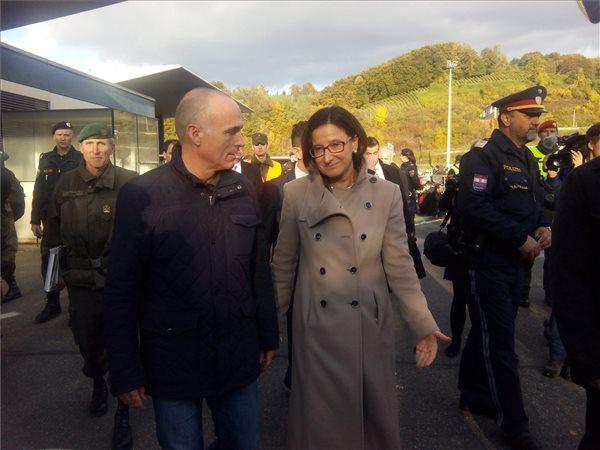 Ausztria, belügyminiszter
