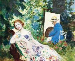 Csók István festmény