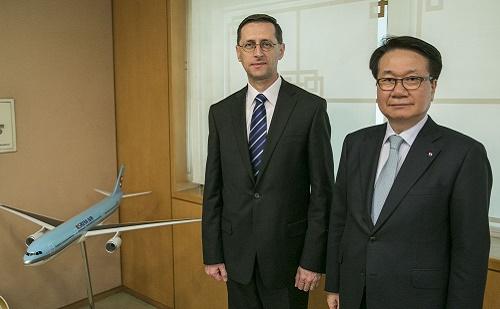 Varga Mihály a Korean Air elnökével találkozott
