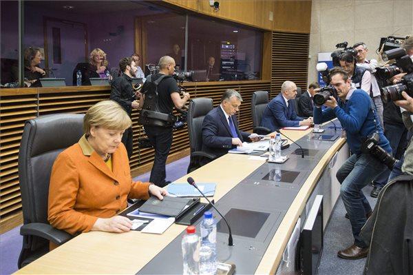 Angela Merkel, Orbán Viktor