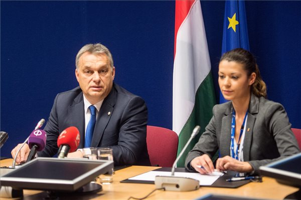 Orbán sürgeti a regionális európai együttműködések brüsszeli támogatását