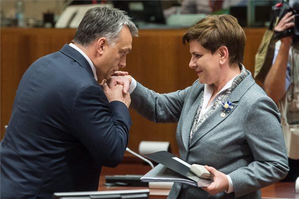 Orbán Viktor, Beata Szydlo