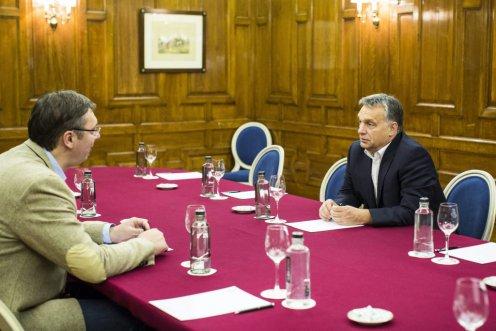 Aleksandar Vucic, Orbán Viktor